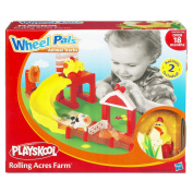 Playskool Wheel Pals Animal Tracks Playset - Rolling Acres Farm