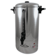36 Cup Percolating Urn, Stainless Steel