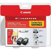 Canon Usa 2973B004 Canon Usa 2973B004 Pg-210Xl/Cl-211Xl With Photo Paper