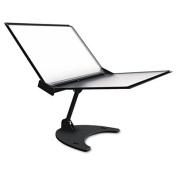 Tarifold- Inc. D3D71 Technic 3D 360 Degree Desktop Stand- 10 Pockets- 20 Sheet Capacity- Black