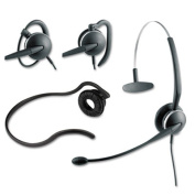 4-in-1 Headset, Noise Canceling Microphone, Black