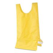 Heavyweight Pinnies, Nylon, One Size, Gold, 12/Box