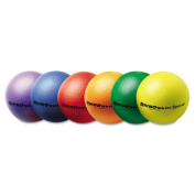 "Rhino Skin Ball Sets, 8 1/2"" Blue, Green, Orange, Purple, Red, Yellow, 6/Set"