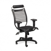 Balt 34422 Seatflex Series Swivel/Tilt Chair with Headrest and Arms Black