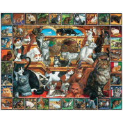 Jigsaw Puzzle Lovable Pets 1000 Pieces 60cm x 80cm -The World of Cats