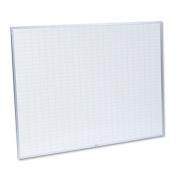 Planning Board, 1 x 2 Grid, Porcelain-on-Steel, 48 x 36, Blue/White