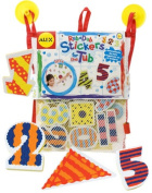 Alex Bath Numbers And Shapes Stickers For The Tub