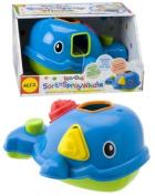 Cuckoo Alex Rub A Dub Sort 'N Spray Whale Bath Toy