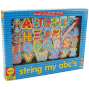 ALEX Toys Little Hands String My ABC's