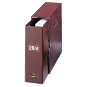 Personal Organizer Classic Storage Case w/Sleeve, 5-1/2 x 8-1/2, Burgundy
