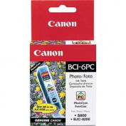 BCI6PC (BCI-6) Ink, 370 Page-Yield, Photo Cyan