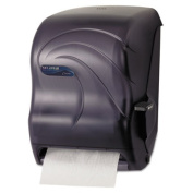 Oceans Savvy Lever Roll Towel Dispenser, 13 x 9 x 15 1/2, Black Pearl