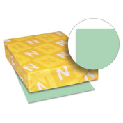 Wausau Papers WAU49161 Index Paper- Heavyweight- 90 lb.- 8-.50in.x11in.- Green