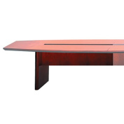 Tiffany CMT72SBCRY Corsica Series 72 Wide Starter Table Base Sierra Cherry