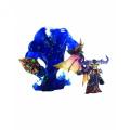 World of Warcraft Series 2 Premium Action Figure Gnome Warlock Valdremar and Voyd 20 cm