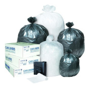 Inteplast Group S434822K Commercial Can Liners 55-60 Gal 43 x 48 22 microns 150-Carton Black