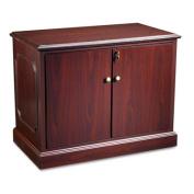 HON 94000 Series Storage Cabinet, 70cm H x 100cm W x 50cm D, Mahogany