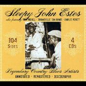 Legendary Country Blues Artists [Slipcase]