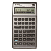 Business Calculator, 3-2/5 quot;x5-7/10 quot;x5/8 quot;, Built-in Clock by HP