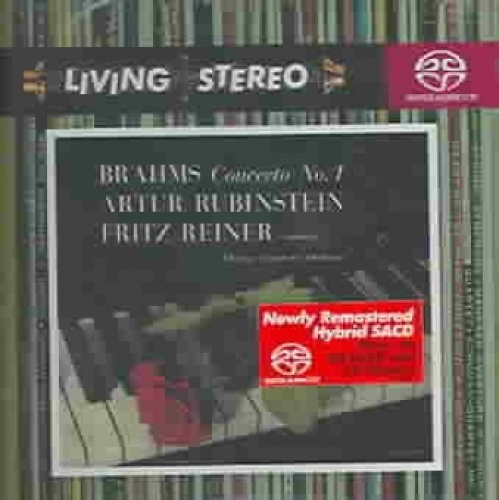 Brahms: Piano Concerto No. 1 [Hybrid SACD] by Various Artists.