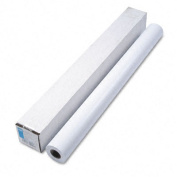 """Designjet Large Format Instant Dry Semi-Gloss Photo Paper, 42"""" x 100 ft., White"""