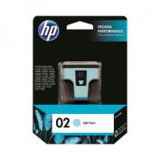 HP 02, (C8774WN) Light, Cyan Original Ink Cartridge