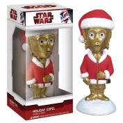 Star Wars Holiday C-3PO Mini Bobble Head