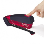 Accentra 1124 Desktop Stapler 20-Sheet Capacity Translucent Red