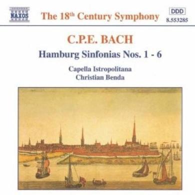 C.P.E. Bach: Symphonies For Hamburg
