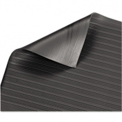 Guardian Air Step Antifatigue Polypropylene Mat, 24 X 36, Black