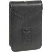 AC158 Digital Camera Case, Simulated Leather, 2 3/5 x 1 x 4, Black