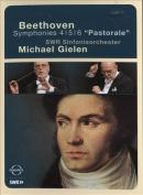 "Beethoven - Symphonies 4, 5, 6 - ""Pastorale"" [Region 1]"