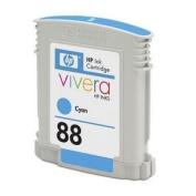 PRINTER SUPPLIES C9386AN HP 88 Cyan OfficeJet Ink Cartridge