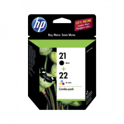 HP 21/ 22 Combo Pack Inkjet Print Cartridges - Black/ Tri-color