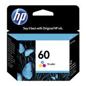 HP 60, (CC643WN) Tri-color Original Ink Cartridge