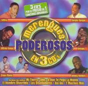 Merengues Poderosos en 3 CDs