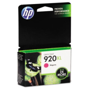 HP 920XL High-Yield Ink Magenta CD973AN#140. Save more up to 2x more pages!