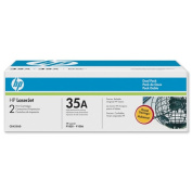 CB435AD (HP 35A) Toner, 1500 Page-Yield, 2/Pack, Black