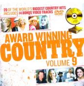 Award Winning Country Volume /DVD [9 Discs] [Region 4]