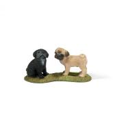 Schleich 16383 Pug puppies
