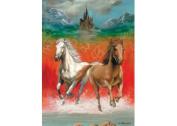 Dashing Horses Puzzle - 100 pc