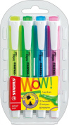 Stabilo 275/4 Swing Cool Highlighter - Set/4
