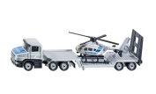 Low Loader With Helicopter - 1:87 Scale