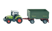 Tractor with 2-axled Trailer