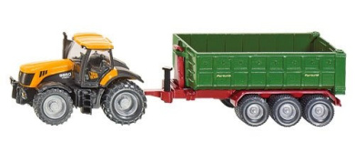 JCB Tractor with Hook-Lift Trailer