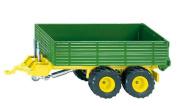 Siku 2552 Twin-axle Trailer - Green Scale 1:32