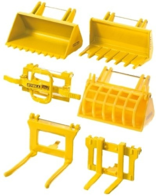 Siku 1:32 Accessories For Front Loader