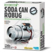Green Science - Kidz Labs Soda Can Robug No.03266 - Great Gizmos