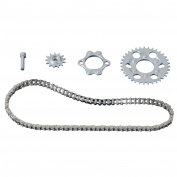 1/12 Honda RC166 Metal Chain Set