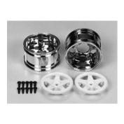 5-Spoke Two Piece Wheels (2), Wide [Toy]